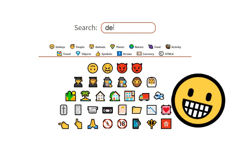 Icons And Symbols Html Character Codes